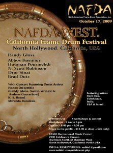 NAFDA West flyer
