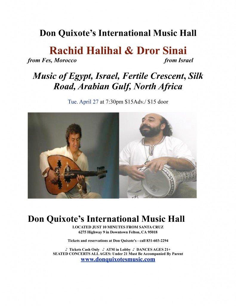 Rachid Halihal & Dror Sinai